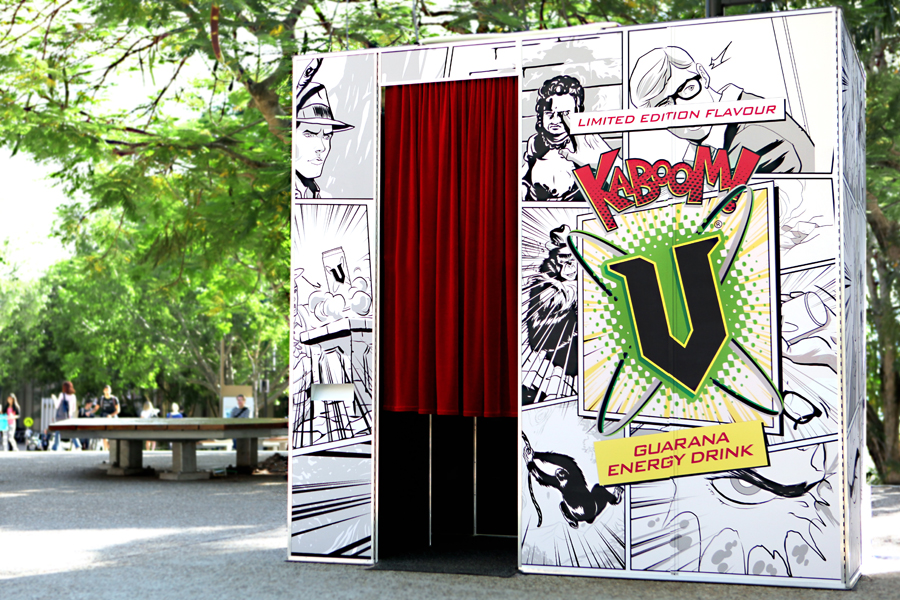 Custom Photobooth Branding
