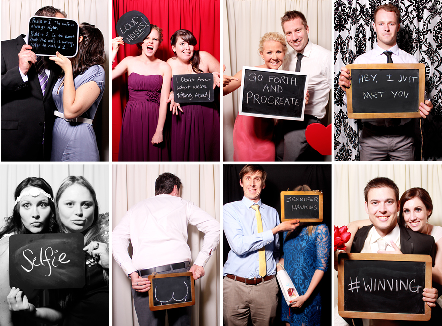 Photobooth Props Blackboards