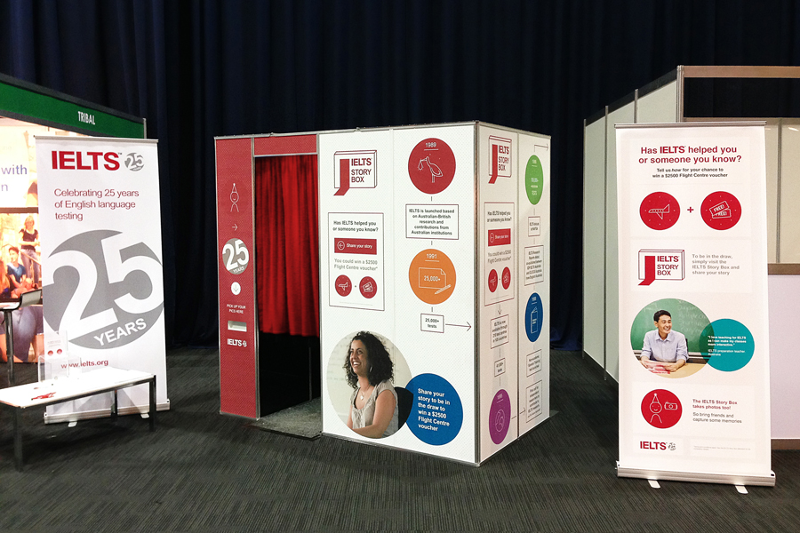 Full Booth Branding for Conference Photobooth