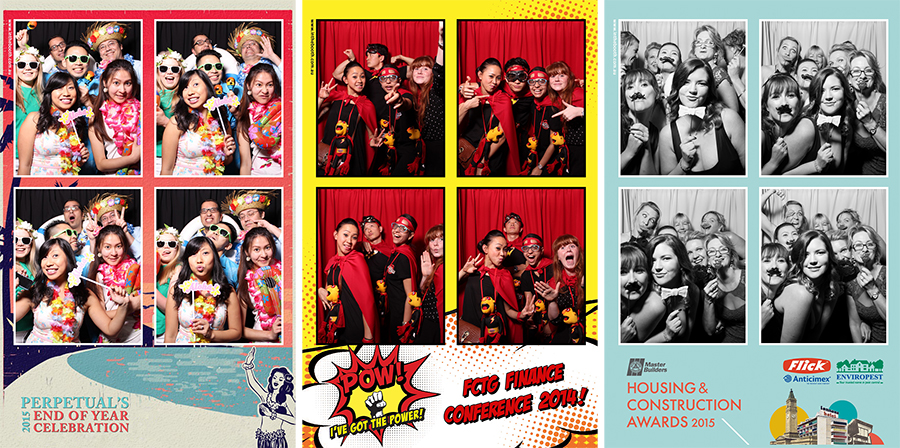 Photobooth Prints for Corporate Function