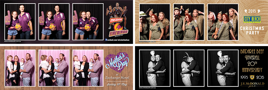Different Types of Photo Booth Prints for Corporate Function