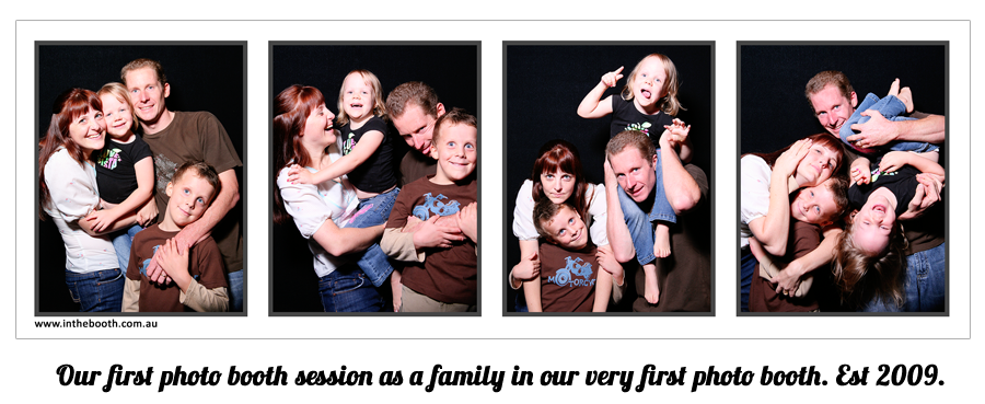 Family Photobooth Print
