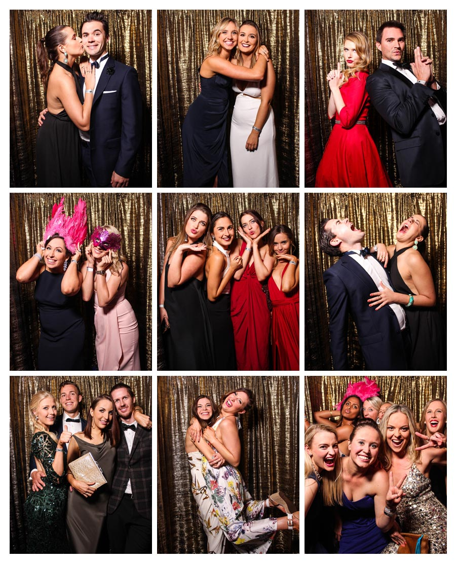 Gold Backdrop for Gala Photo Booth