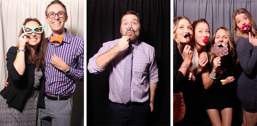 Photobooth images with props