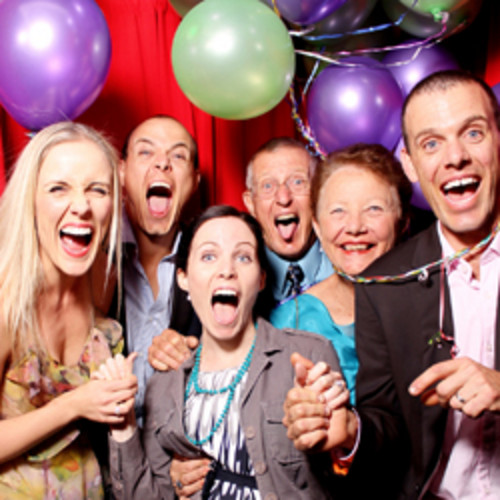 Party Photobooth Hire - In the Booth
