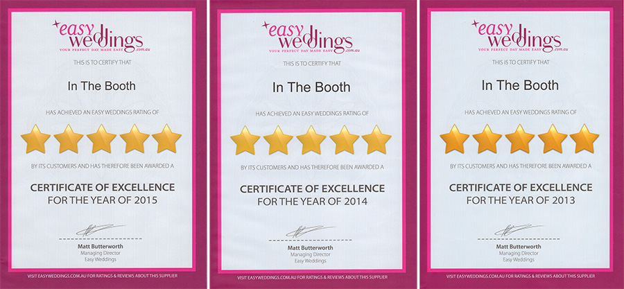 Photobooth Review - Easy Weddings
