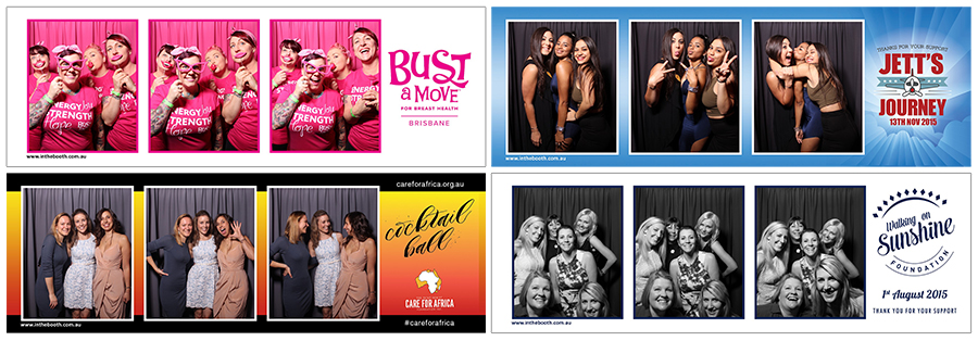 Charity Photobooth Print Examples