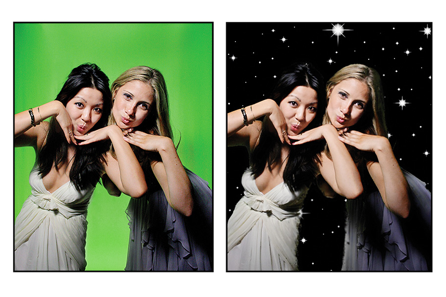 Photo Booth Hire with Green Screen