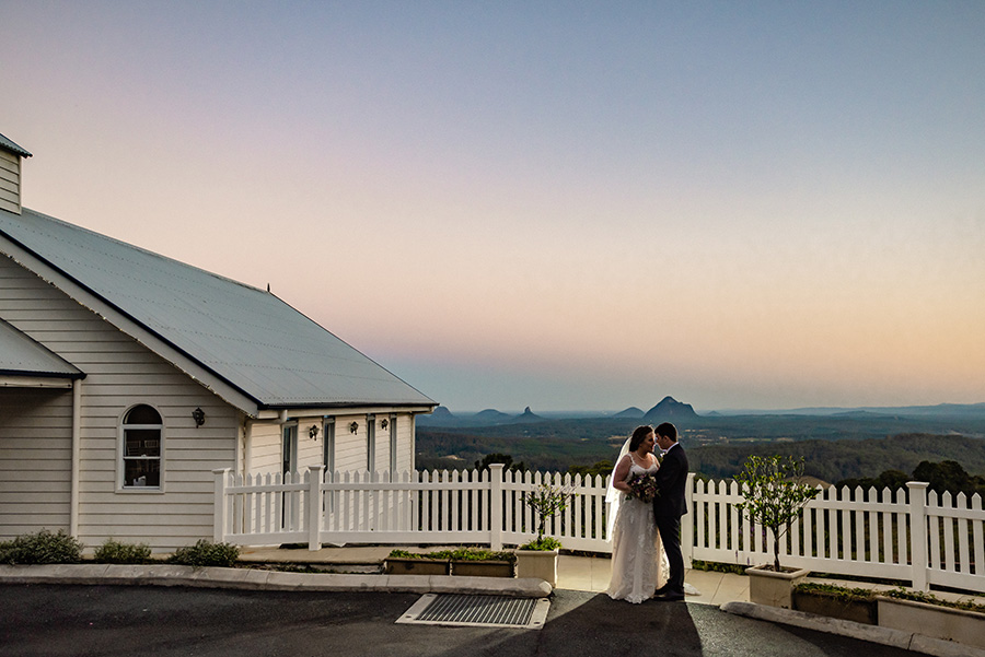 Weddings at Tiffany's Maleny