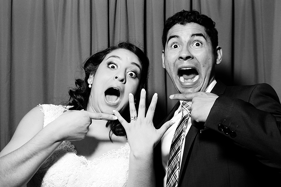 Photo booths for surprise weddings