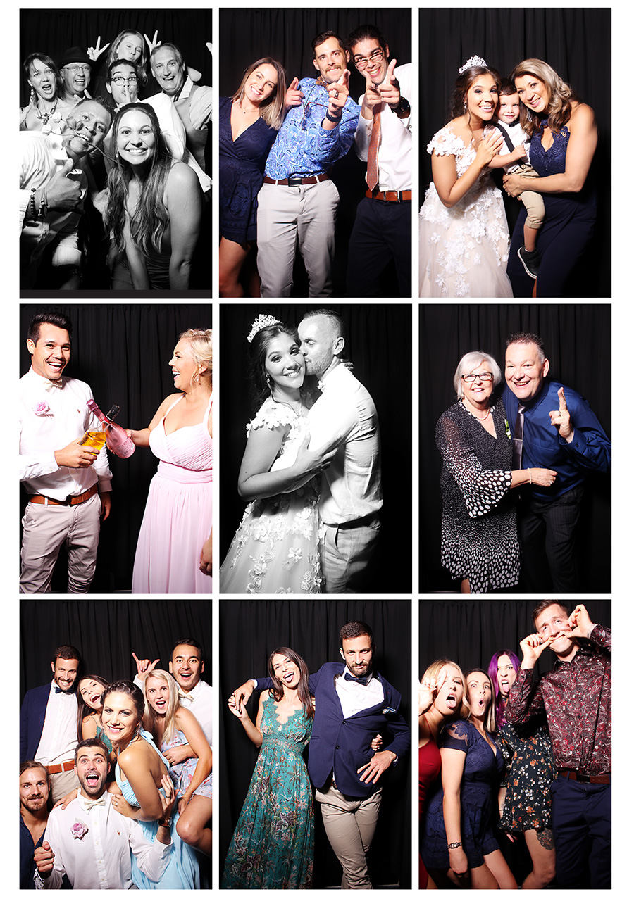 Family & Friends Enjoying Our Photobooth