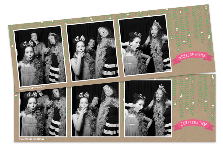 Bat Mitzvah Photo Booth Hire