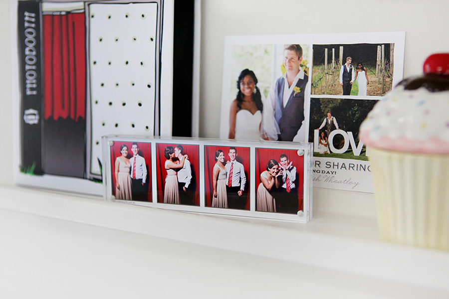 Display Your Wedding Memories