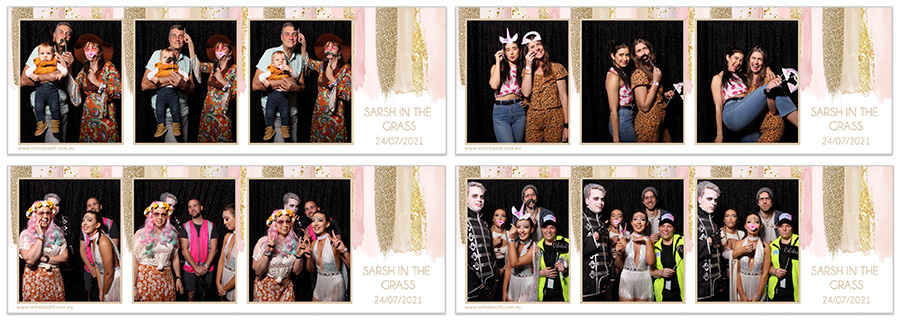 Photo Booth Backdrop Hire